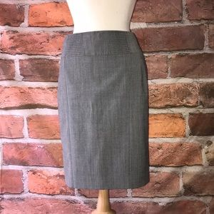 Pencil Lined Work Skirt